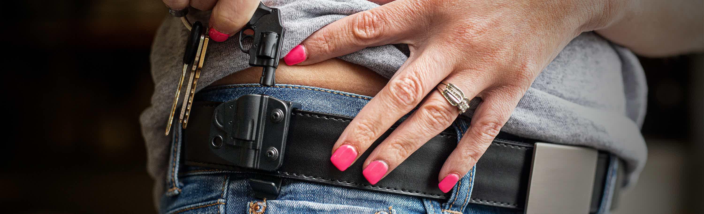 Holster/Firearm Keychain