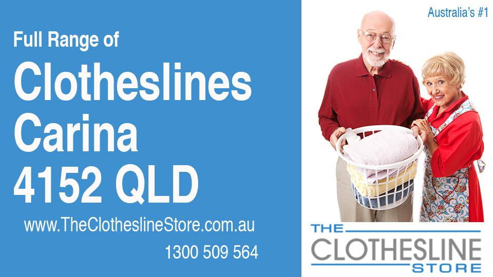 New Clotheslines in Carina Queensland 4152