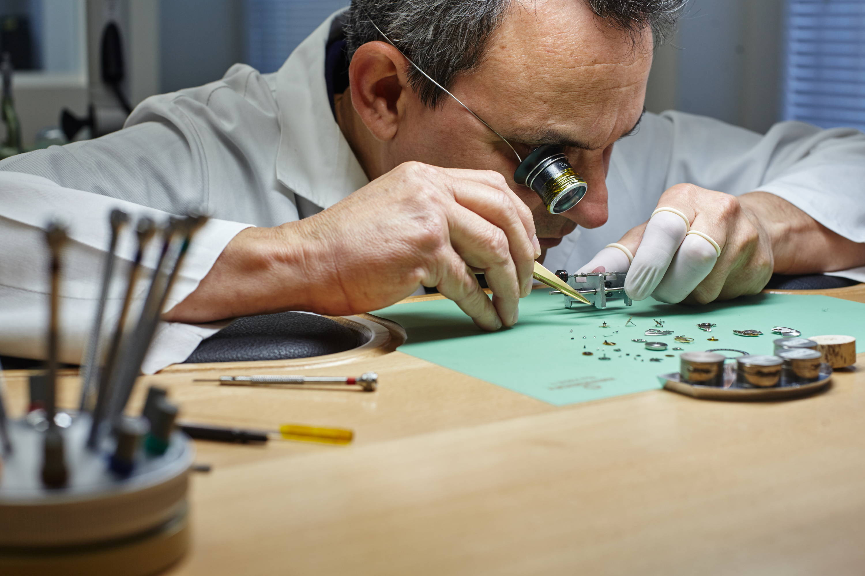 Swiss Watch Craftsmanship