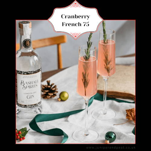 How to make a Cranberry French 75 cocktail