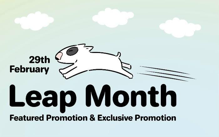 Pawpy Kisses Leap Month Promotion