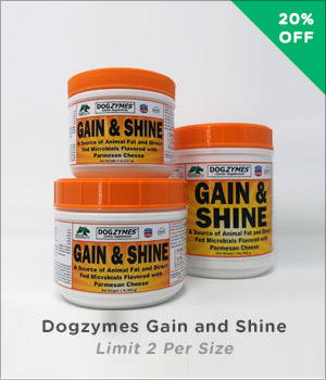 Dogzymes Gain and Shine
