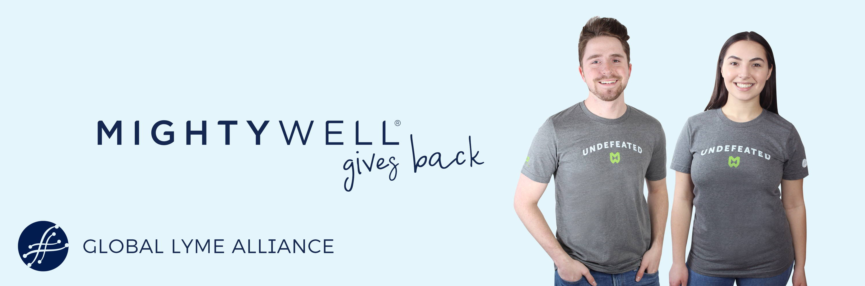Mighty Well Gives Back to the Global Lyme Alliance