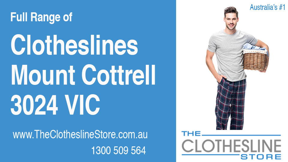 New Clotheslines in Mount Cottrell Victoria 3024