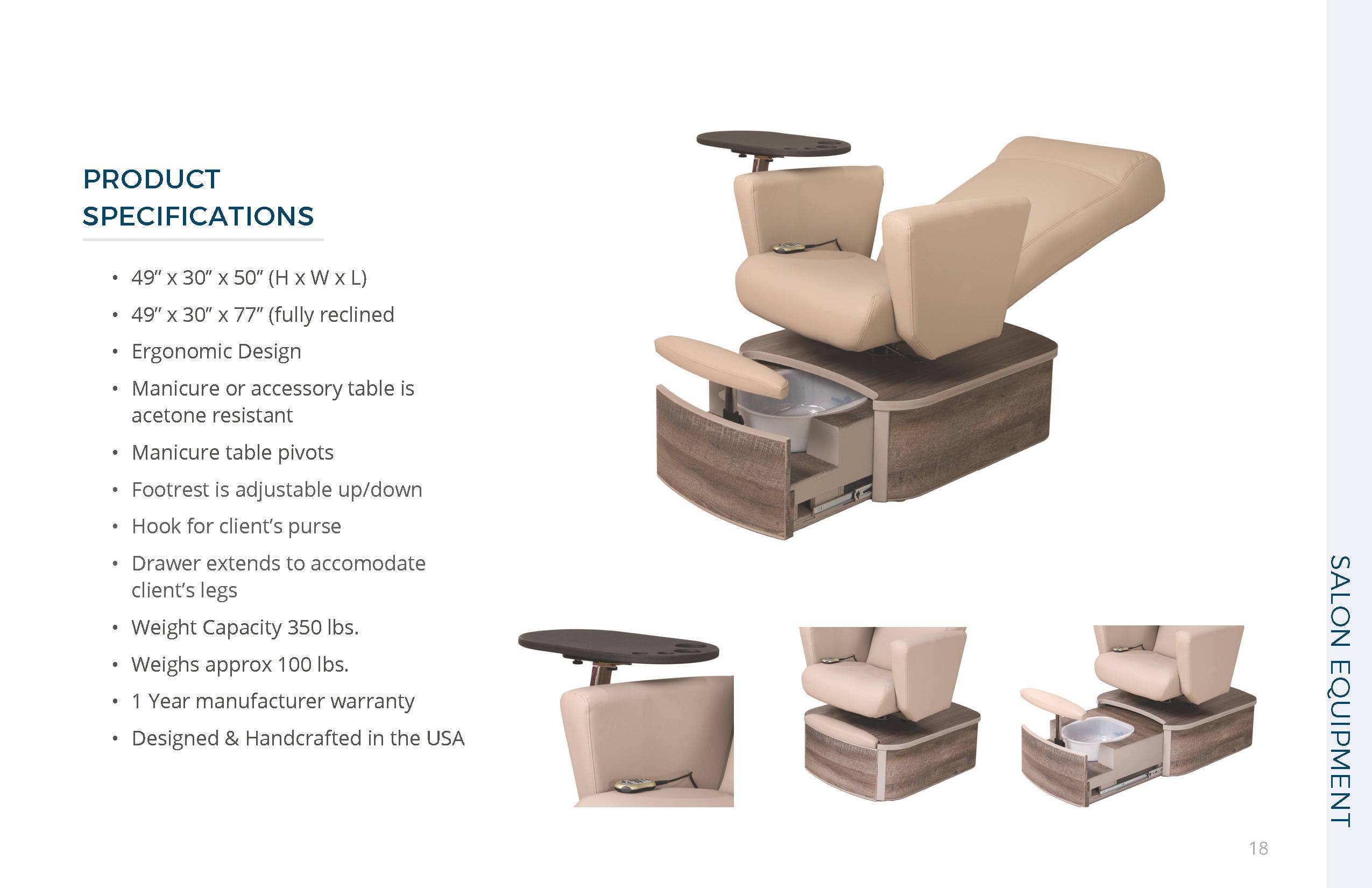 Belava Element Chair Specs
