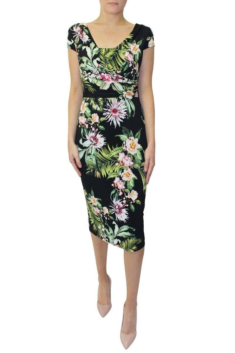 Michaela Louisa Floral Dress Wardrobe Fashion