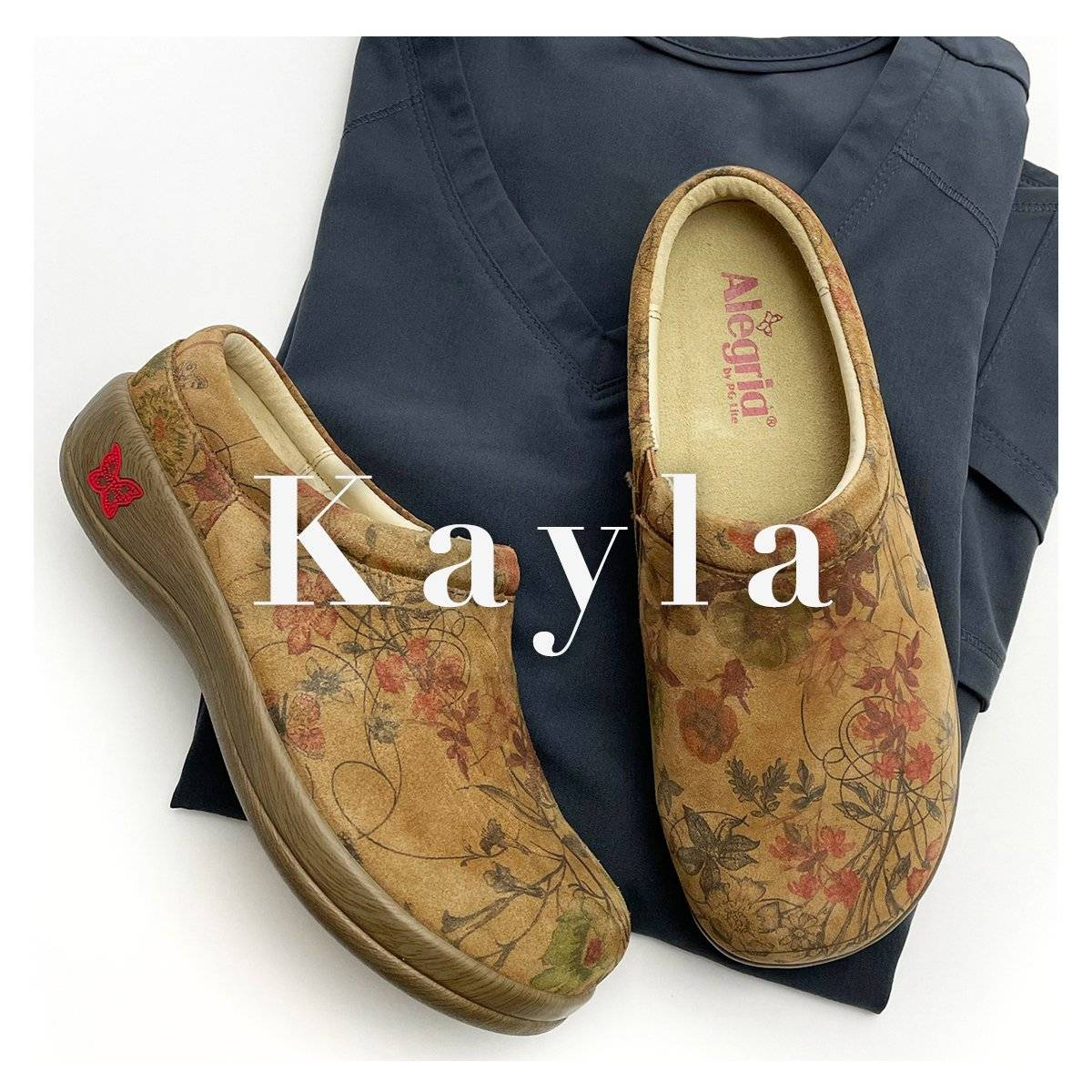 Alegria Kayla clog collection - in Woodland Wonders