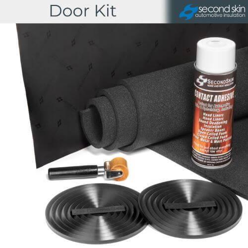 Second Skin Audio door insulation kit