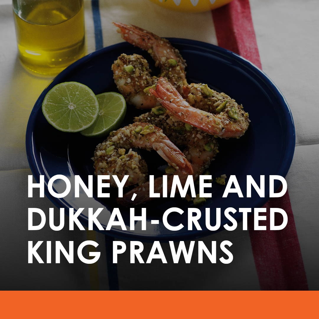 starter, king, prawns, honey, recipe