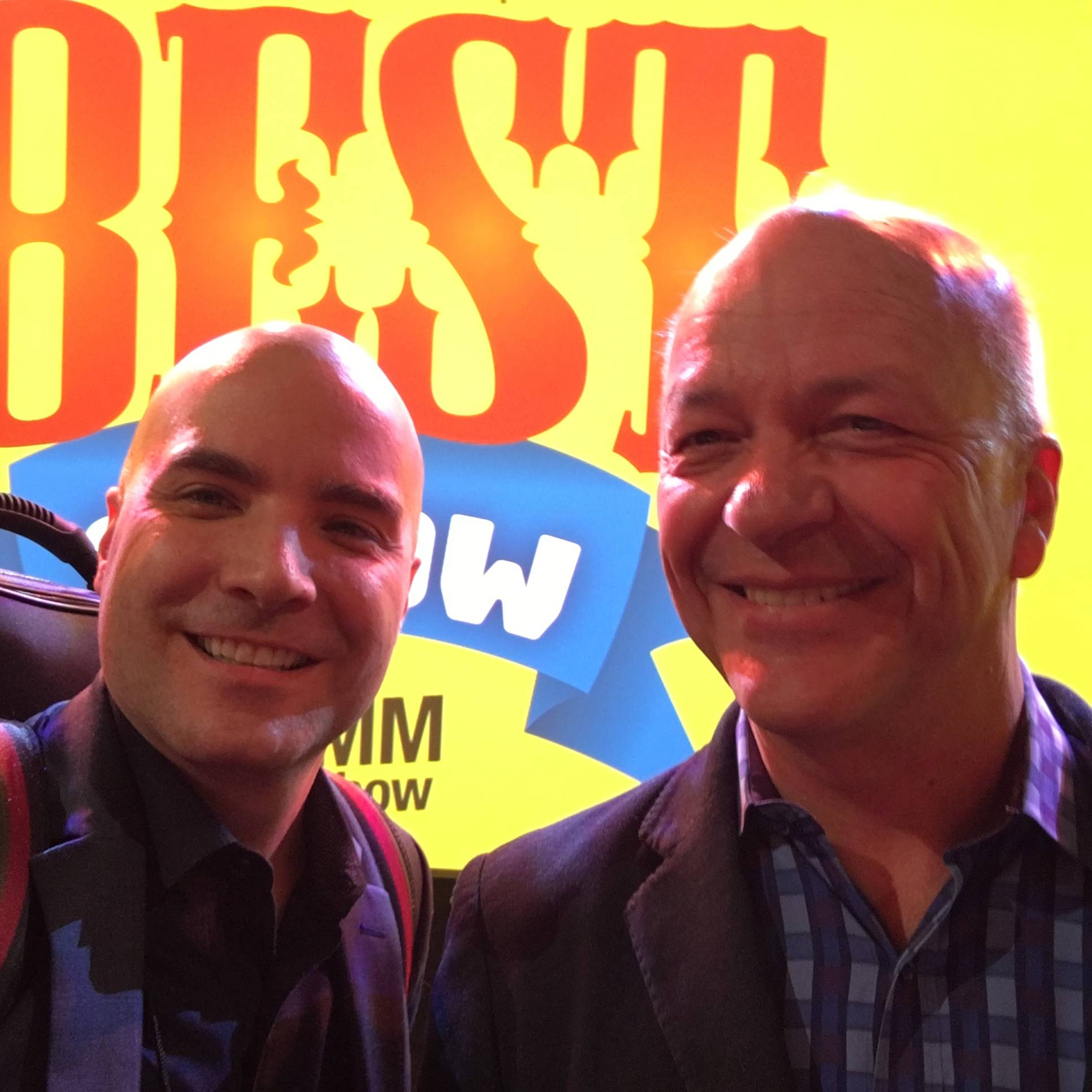 Rulon and Frank at the Best In Show Awards