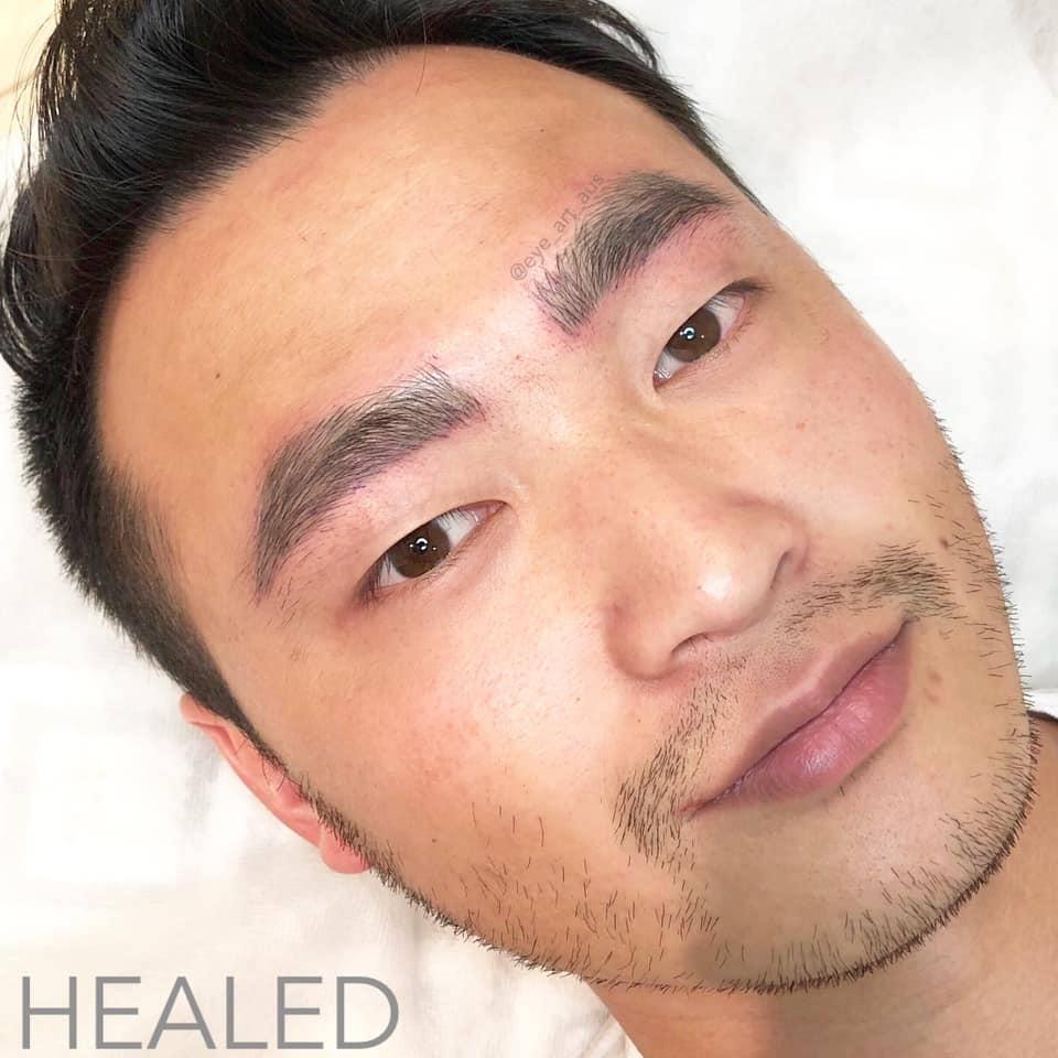 Men's Eyebrow Tattooing