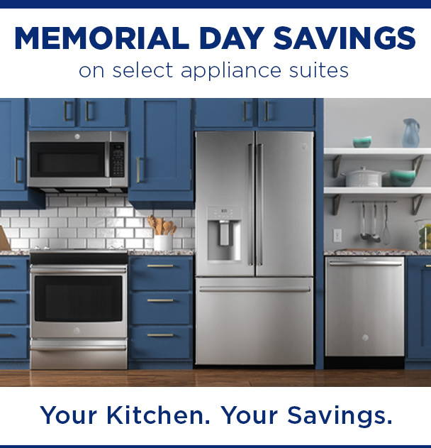 Memorial Day Savings on select appliance suites