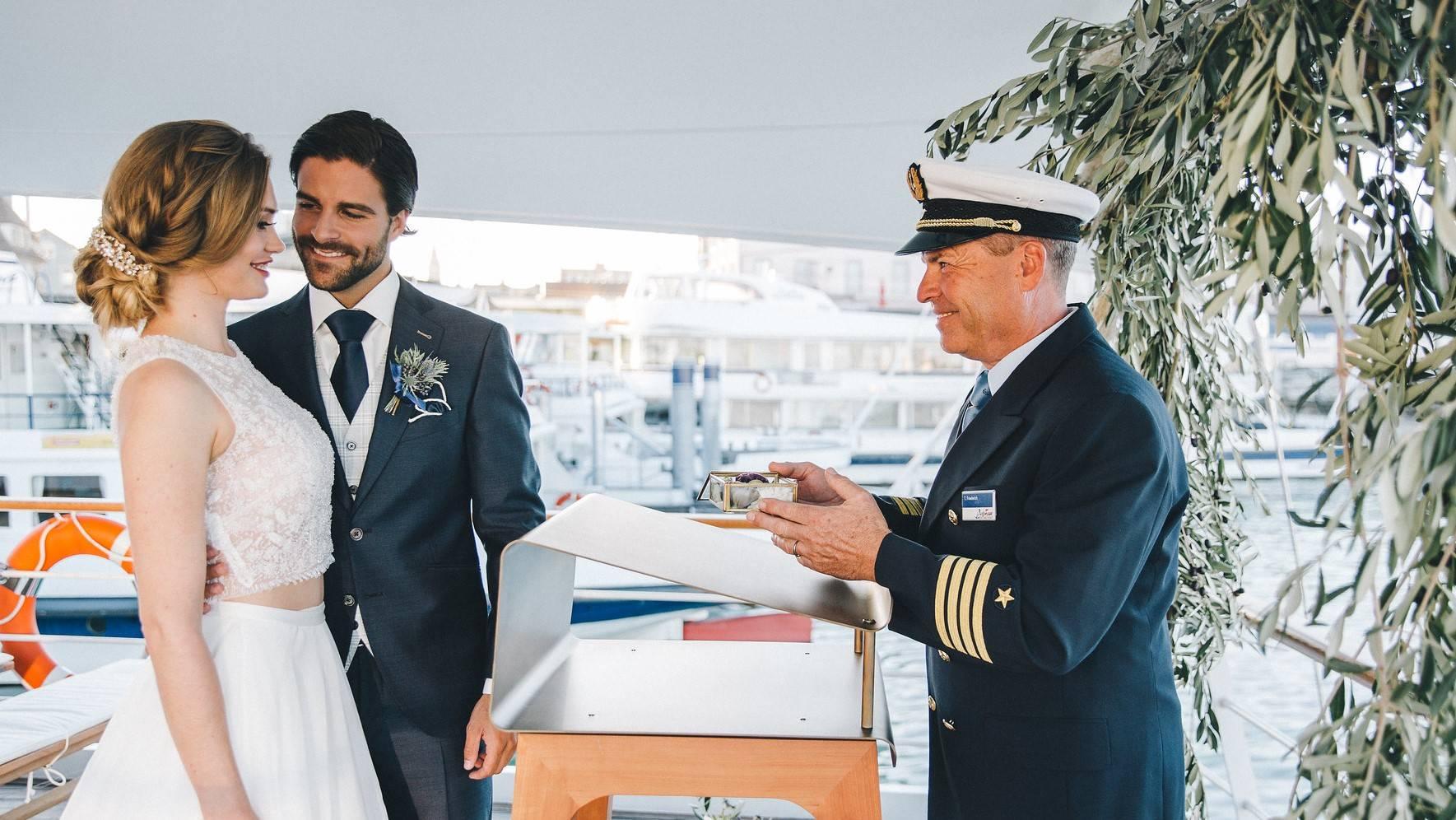 Hochzeit auf dem Bodensee