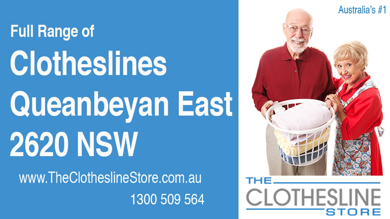 New Clotheslines in Queanbeyan East 2620 NSW