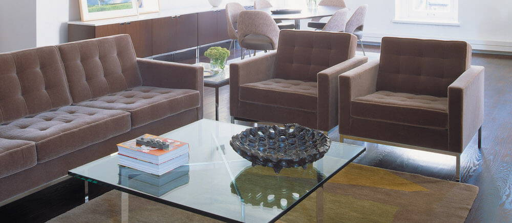 Florence Knoll Relaxed Sofa Collection