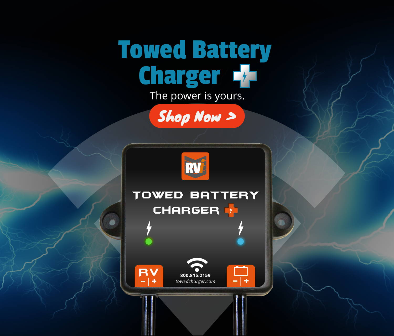 Towed Battery Charger Plus