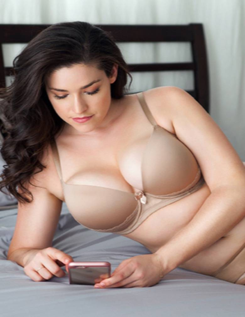 Parfait Casey 2801 European Nude Plunge Molded Bra