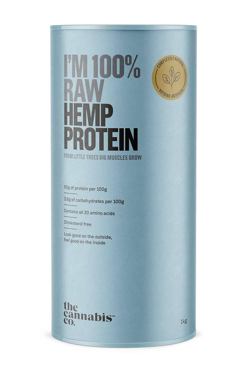 Hemp Protein – 100% Raw