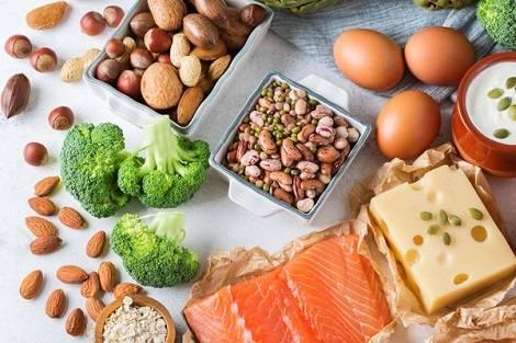 le plan de repas régime riche en graisses