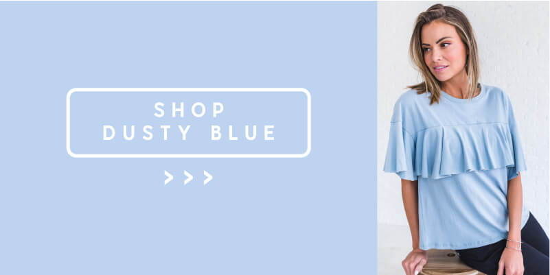 shop light blue spring color styles from bella ella boutique