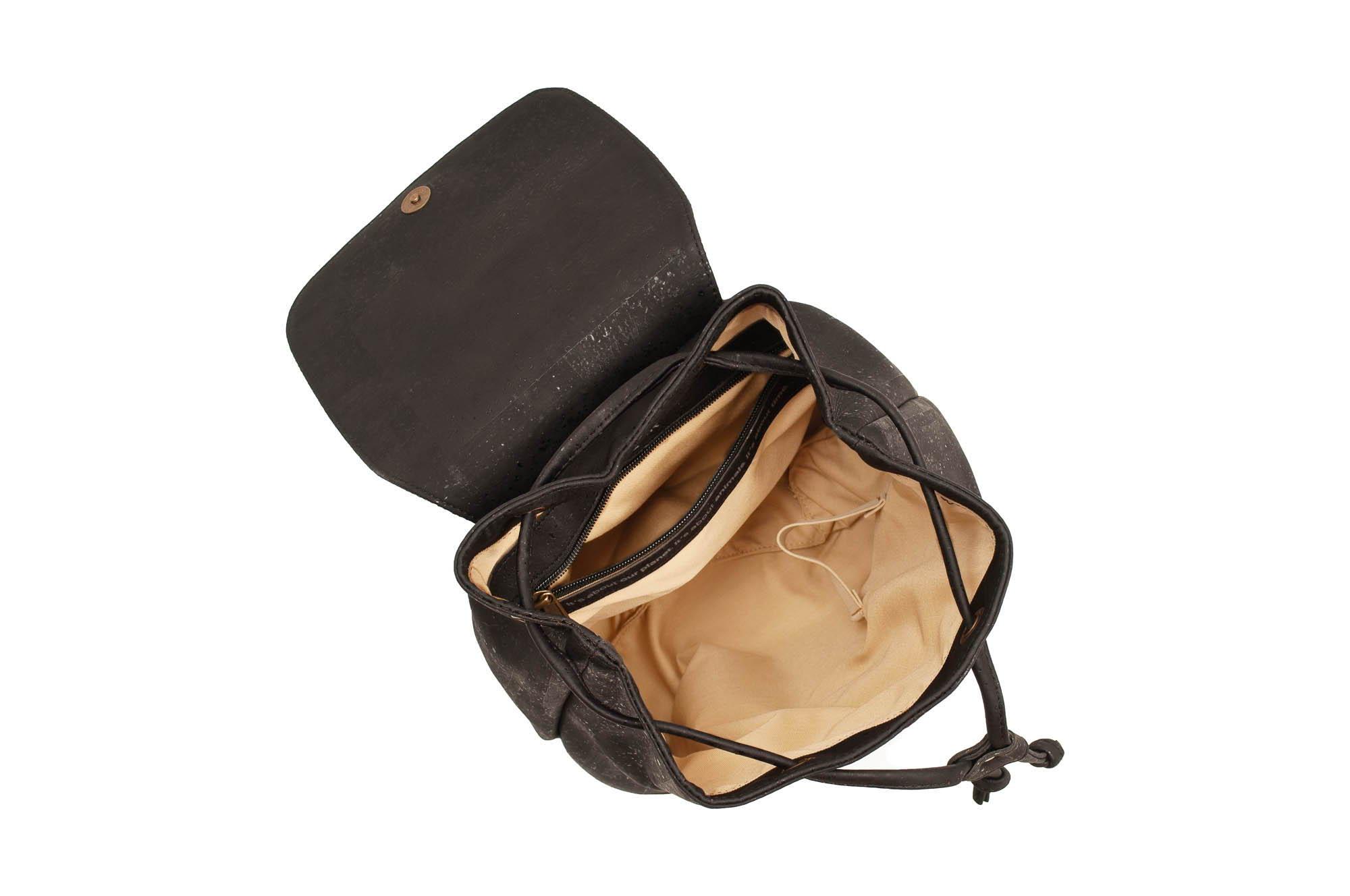 Black Cork Backpack