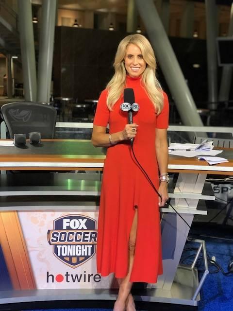 Leslie Osborne of Fox Sports Soccer