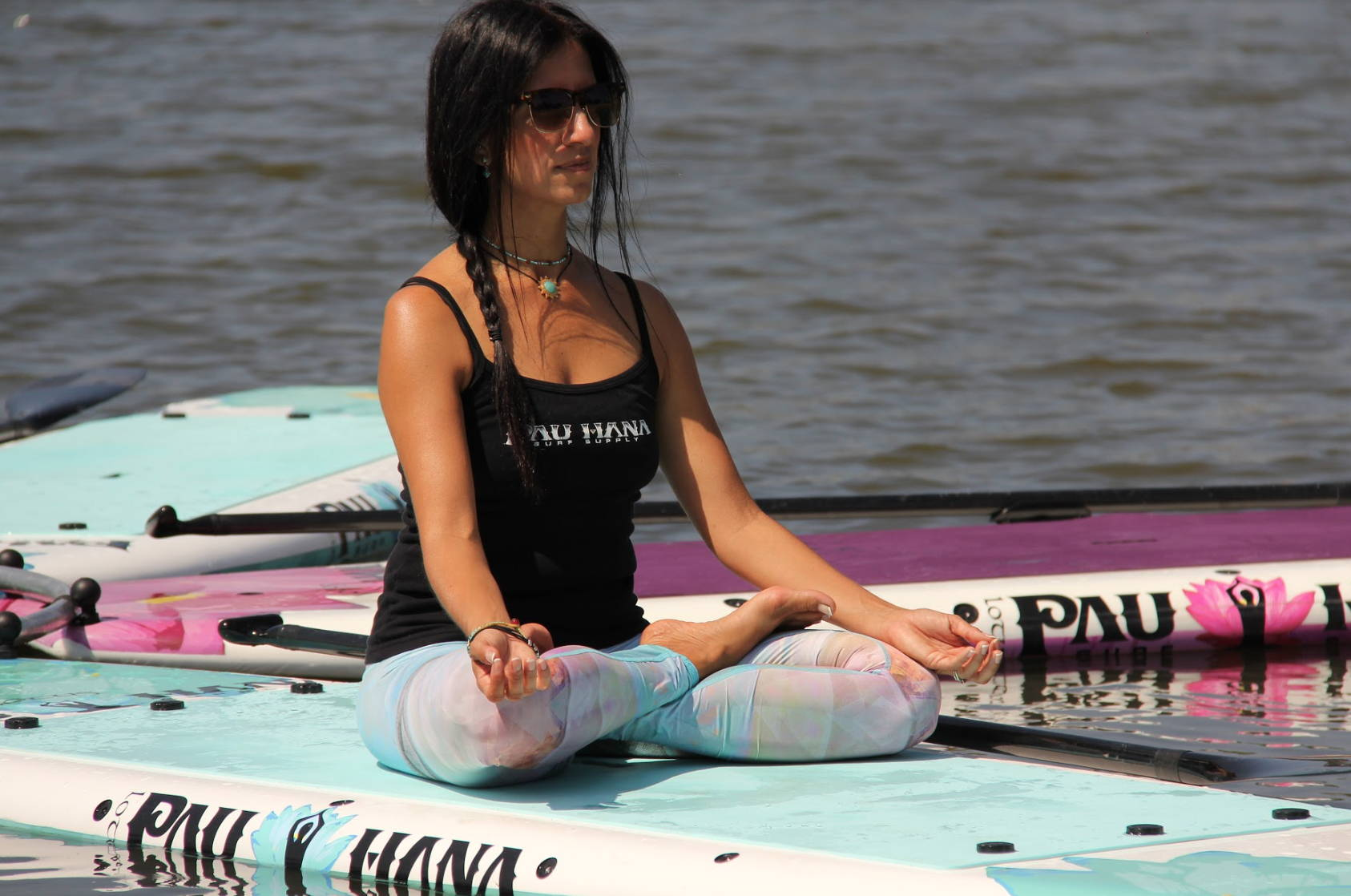 Meditation on the Pau Hana lotus sup