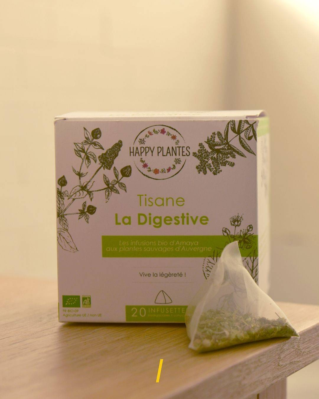 La tisane Bio - Digestive - Happy Plantes