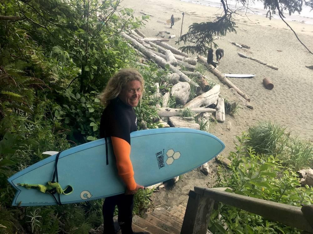 D surfing tofino