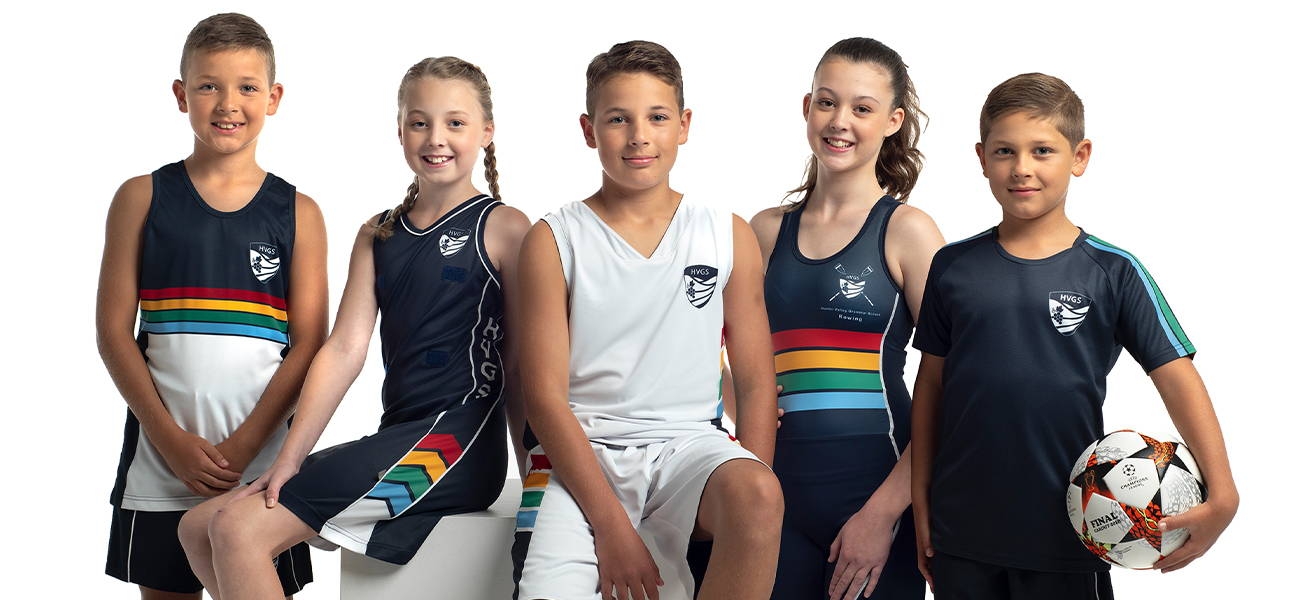 For every sport a student plays, Valour can design custom school sports uniforms tailored to the athlete and in a colour consistent with all other garments in the school's uniform range.