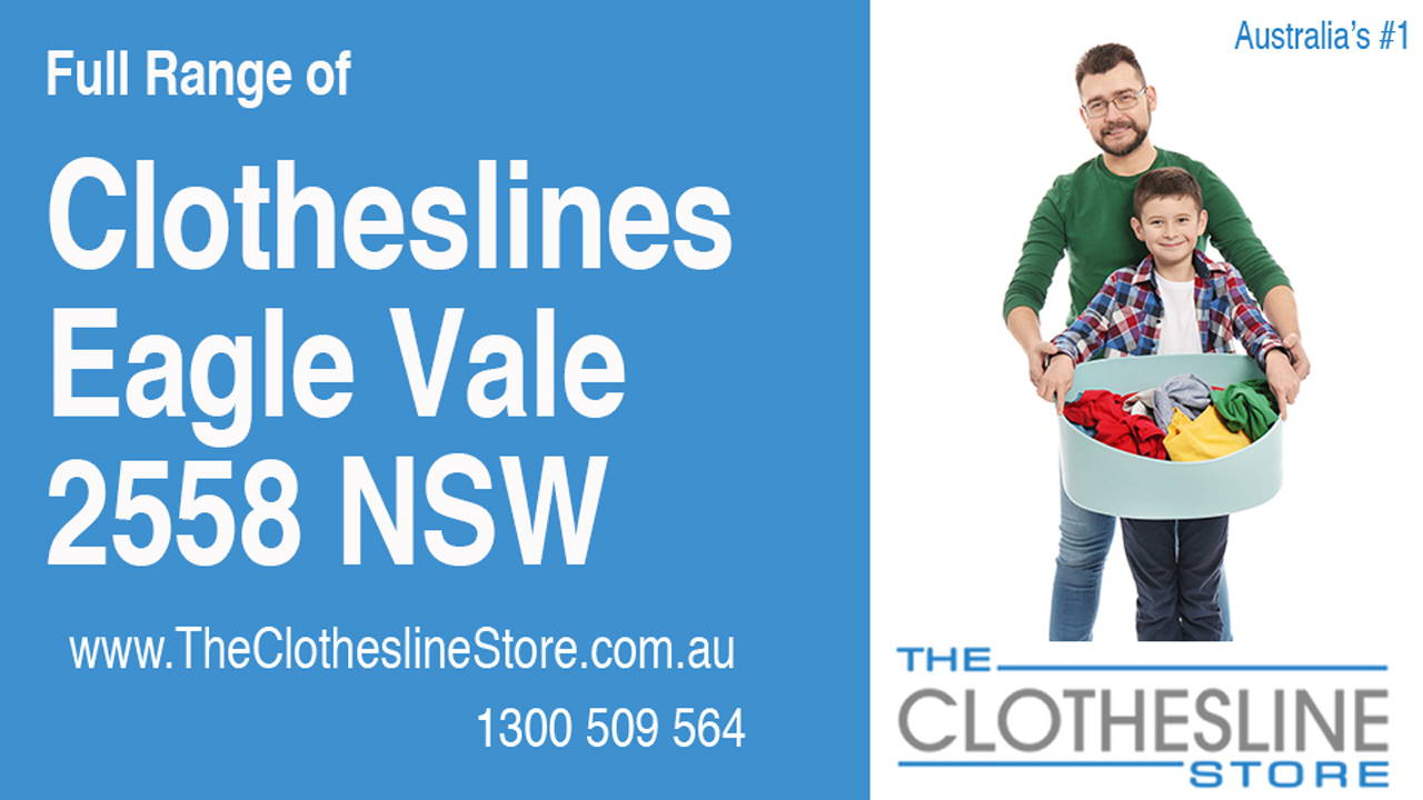 New Clotheslines in Eagle Vale 2558 NSW