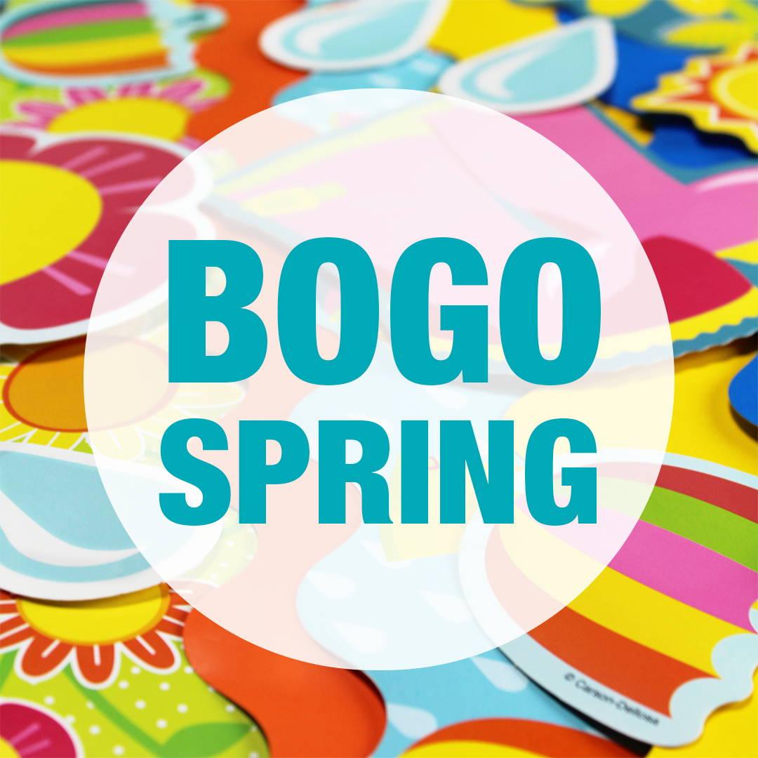 BOGO Spring Promotion