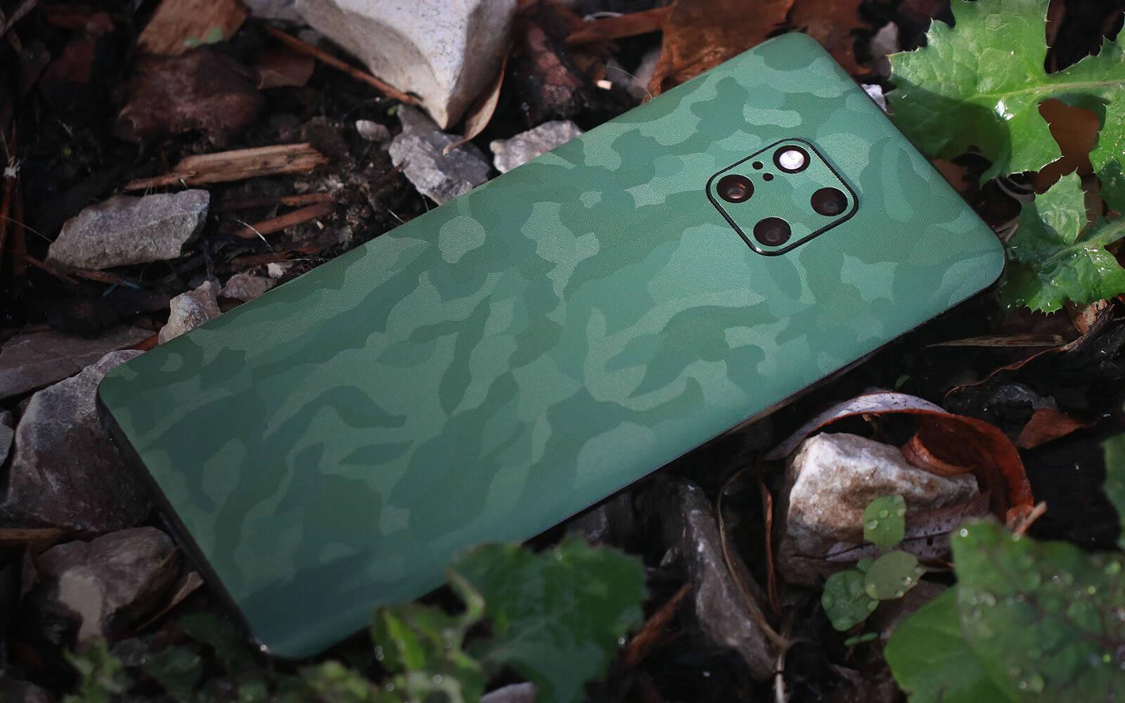 Huawei Mate 20 Pro Green Camo Skins
