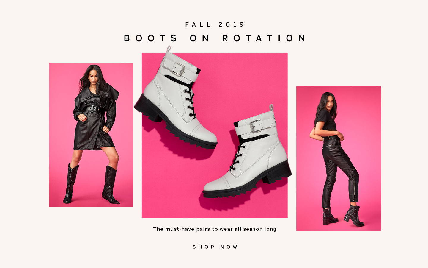Boots on Rotation