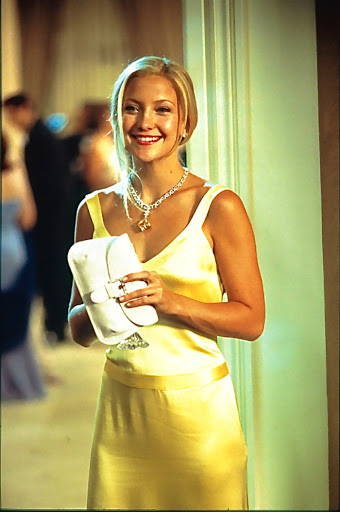 Kate Hudson and Yellow Diamond Isadora Necklace