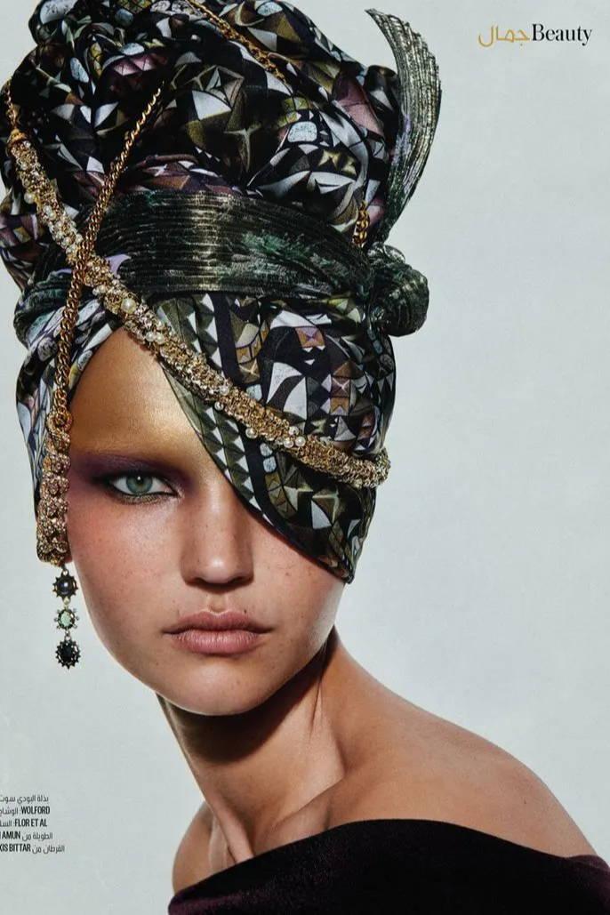 Darya Jemeljanovic | Vogue Arabia Dec. 2019 Issue