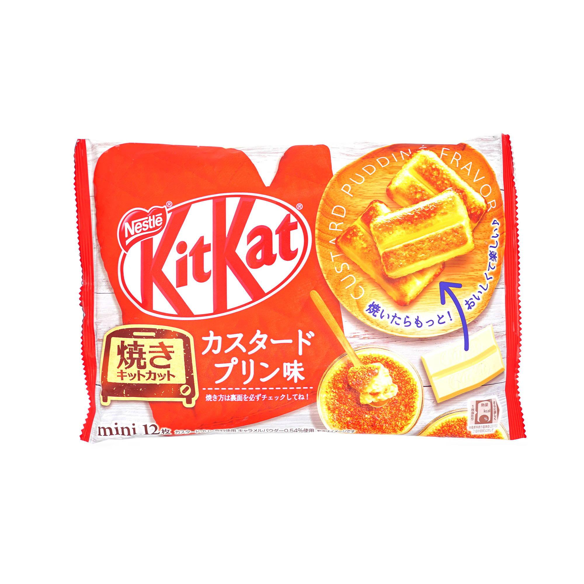 Japanese custard kit kat