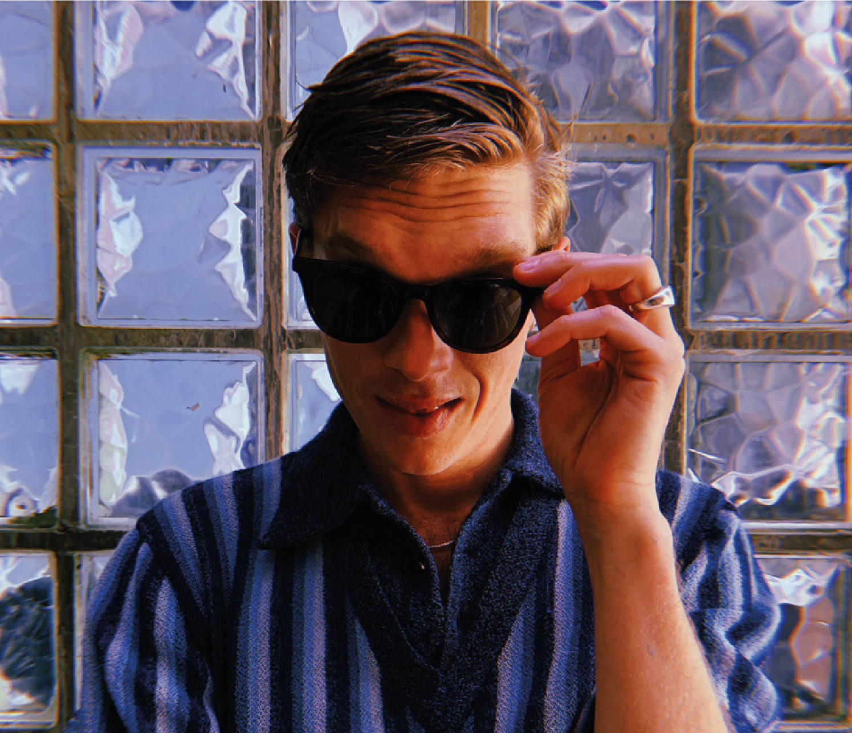 Man in MONC sunglasses