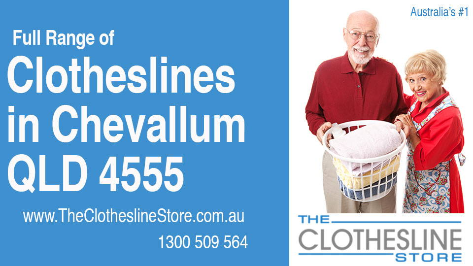 New Clotheslines in Chevallum Queensland 4555