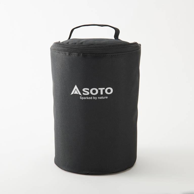 SOTO(ソト)/虫の寄りにくいランタン ケースセット/ブラック