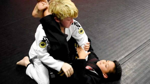 kids jiu jitsu class bjj