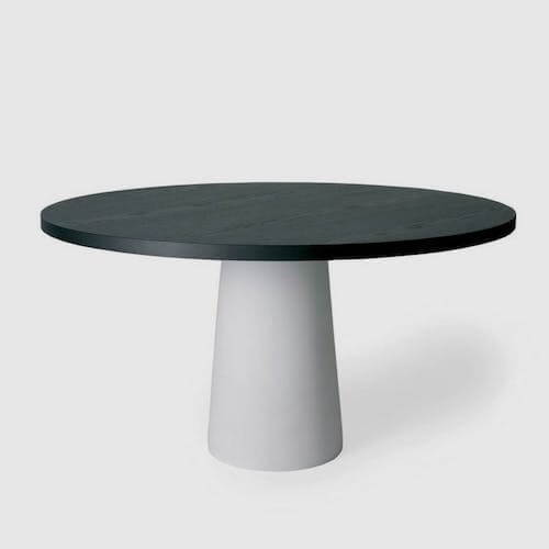 Moooi Container Table Oak Top