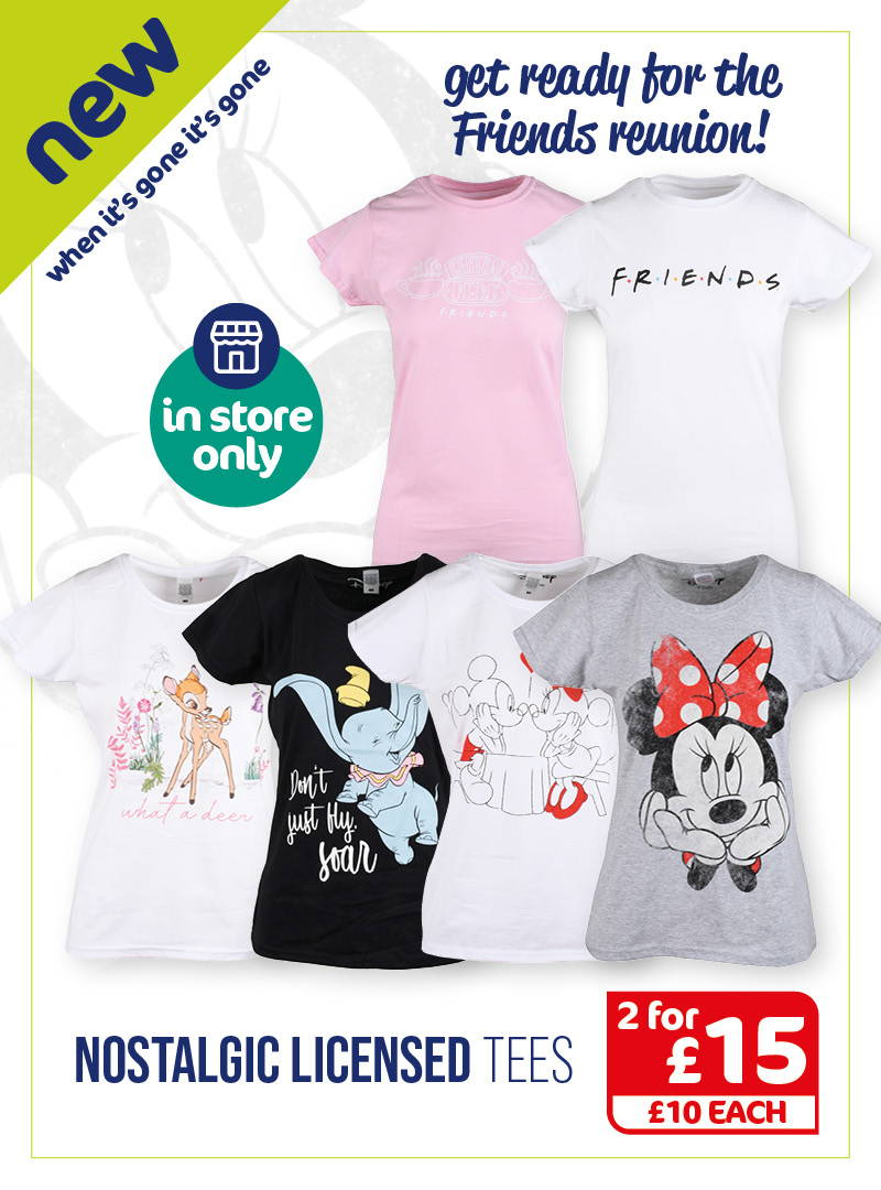 Women's Licensed Tops & T-Shirts