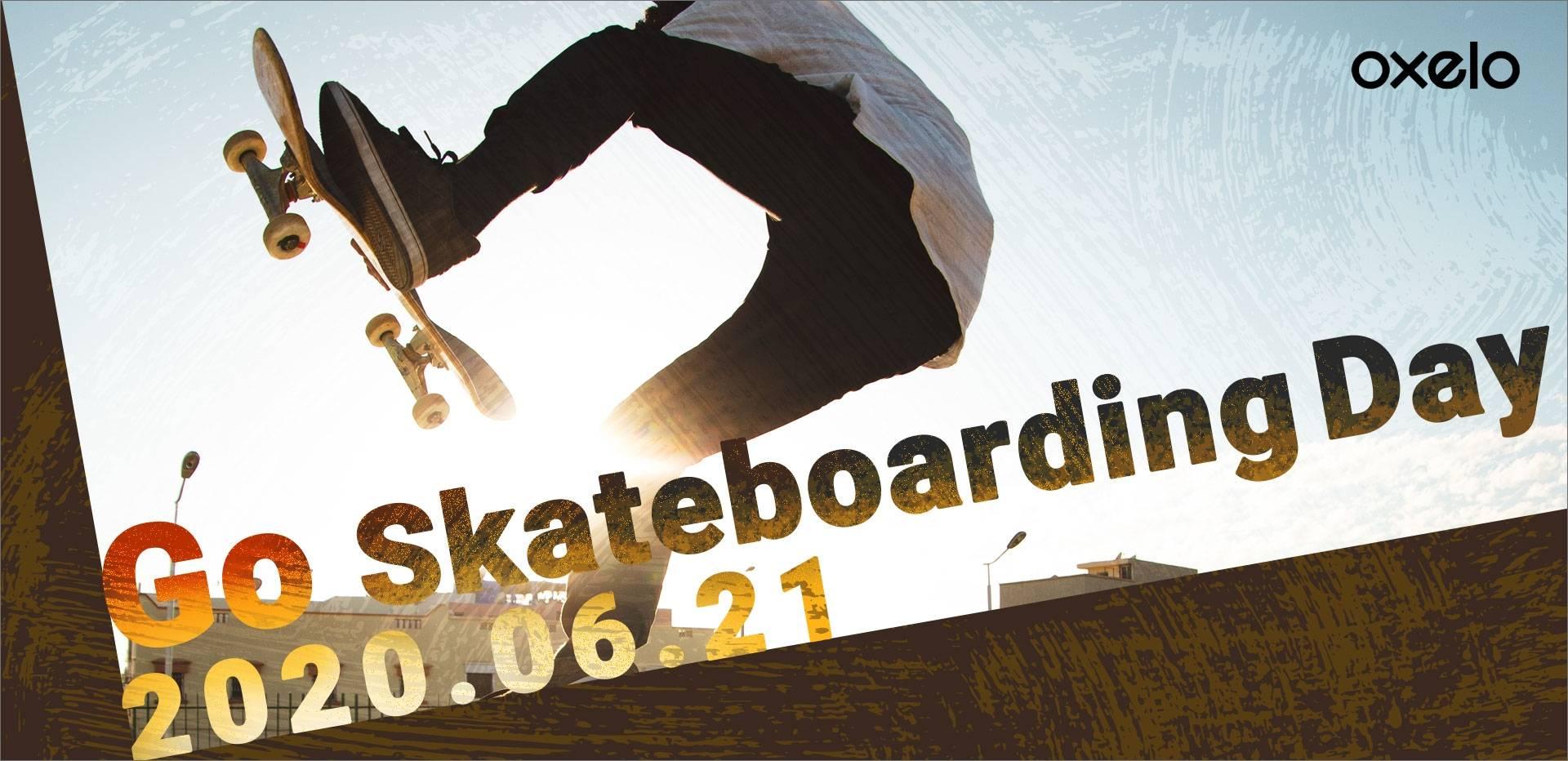 国際Go Skateboarding Dayを楽しもう!