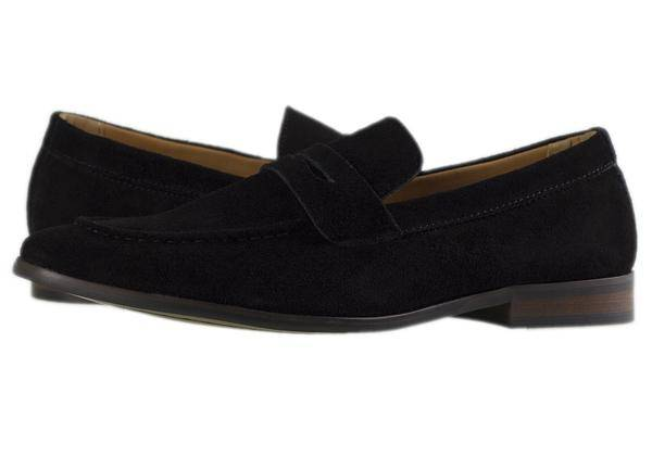 dfa6836d02a Tomaz F132 Penny Loafers (Black) - Tomaz Shoes
