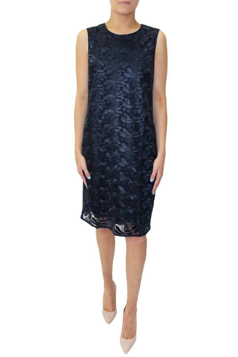 Shannon Dress - Navy