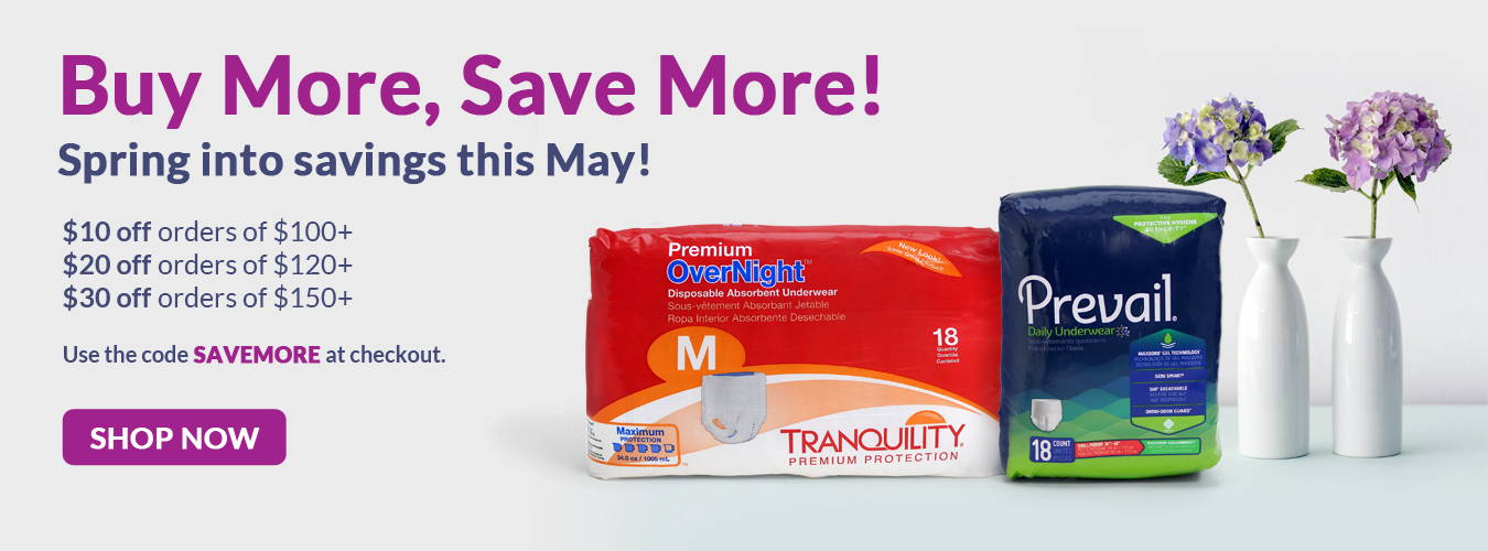 Buy more save more! Spring into savings this May