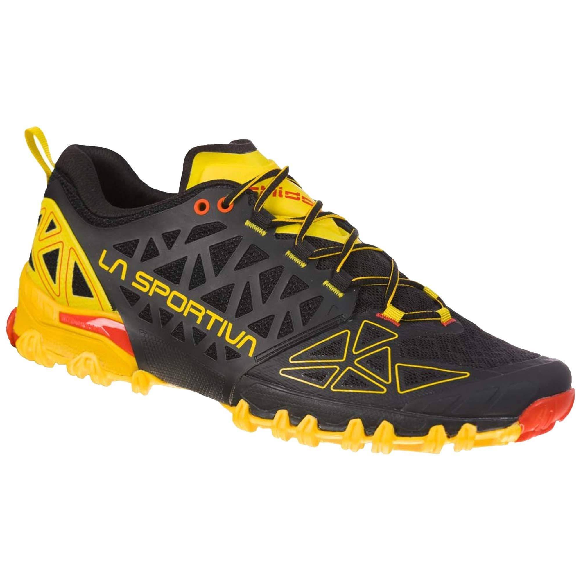 La Sportiva Bushido II Running Shoe, Carbon/Tangerine | Konnichi wa