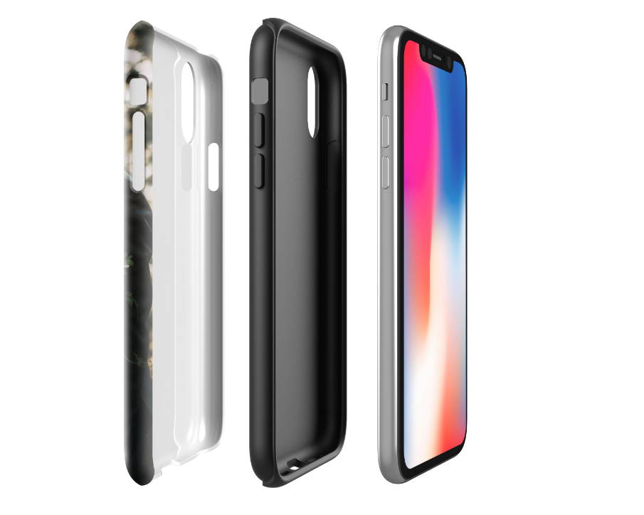 Custom iPhone XR Extra Protective Case Expanded Side