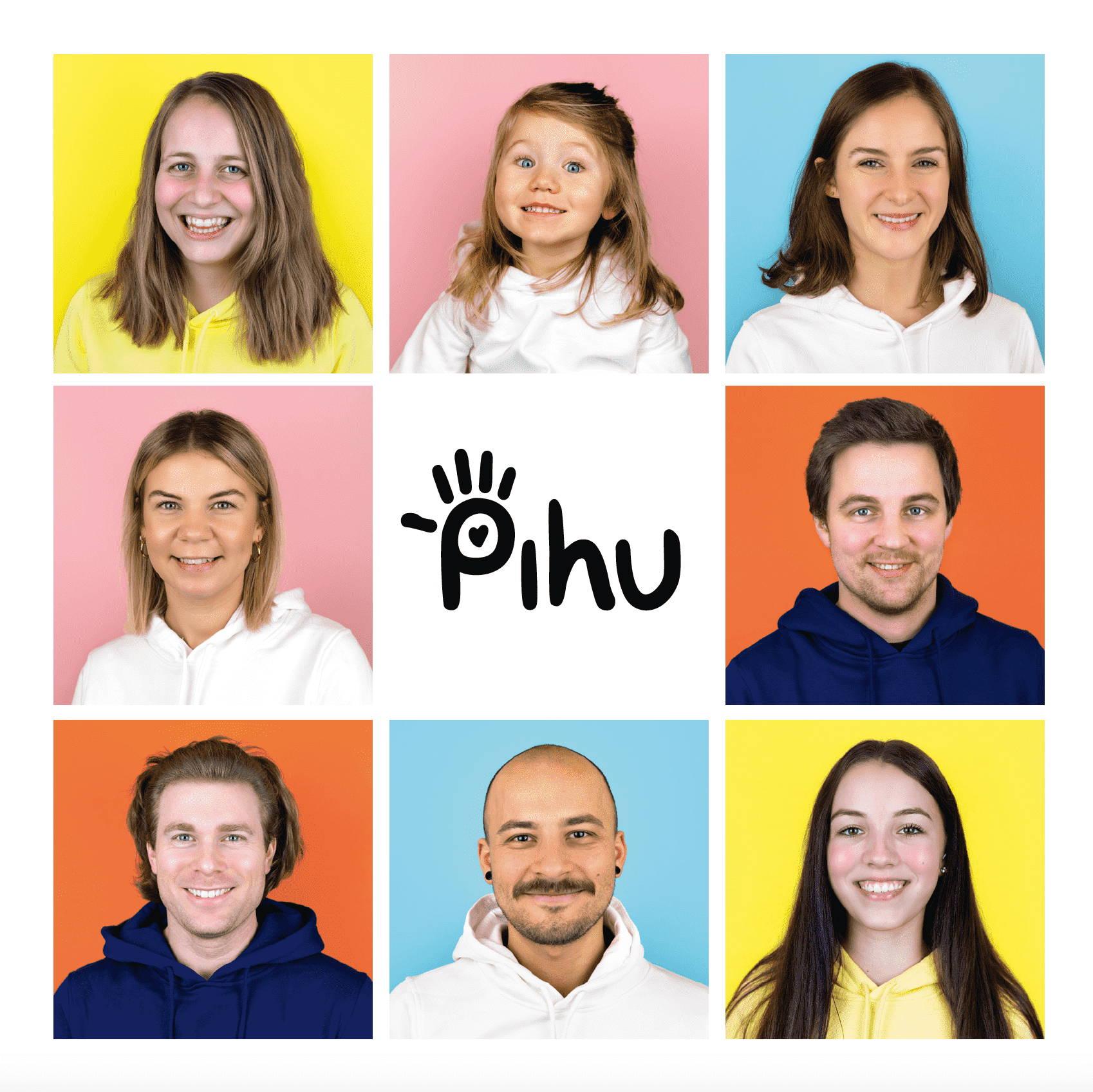 Das Team von Pihu in voller Pracht.